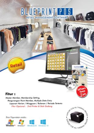 Knowledge Printer Thermal Software Retail Blueprint Indonesia