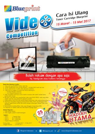 News Lomba Video Cara Isi Ulang Toner Cartridge Blueprint