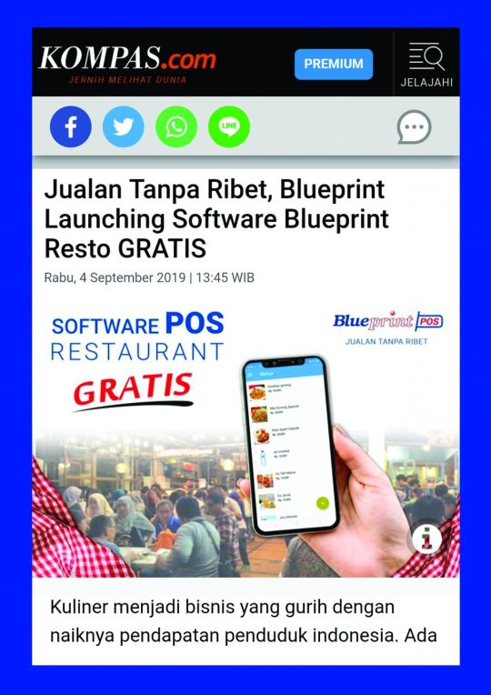 Jualan Tanpa Ribet, Blueprint Launching Software Blueprint Resto GRATIS<br>