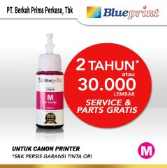 Tinta Canon BLUEPRINT Refill For Printer Canon 70ml Magenta  Merah