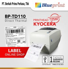 Printer Barcode Thermal  Printer Label Resi BLUEPRINT BP  TD110  USB