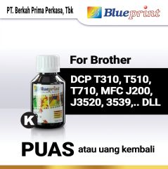 Tinta Brother BLUEPRINT Refill For Printer Brother 100ml  Hitam
