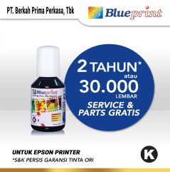 Tinta Epson 003 BLUEPRINT Refill For Printer Epson 100ml Black  Hitam