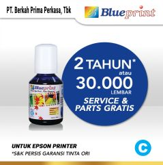 Tinta Epson 003 BLUEPRINT Refill For Printer Epson 100ml  Biru
