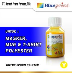 Tinta Sublim Epson BLUEPRINT Refill For Printer Epson 100ml Kuning