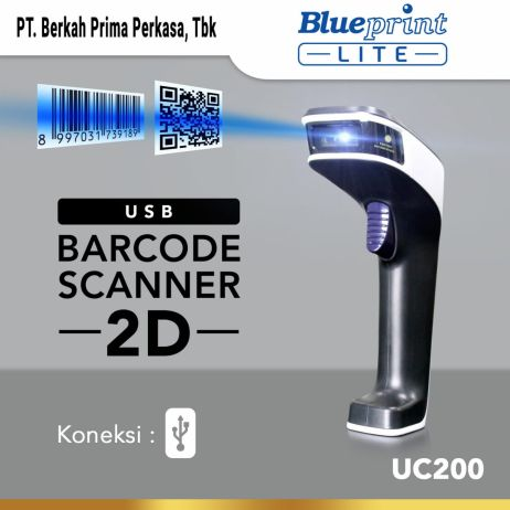 Printer Thermal Barcode Scanner CCD 2D Auto Scan USB BLUEPRINT BP  UC200 whatsapp image 2020 12 23 at 16 37 51